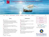 Christodoulos G Vassiliades & Co LLC Website Screenshot